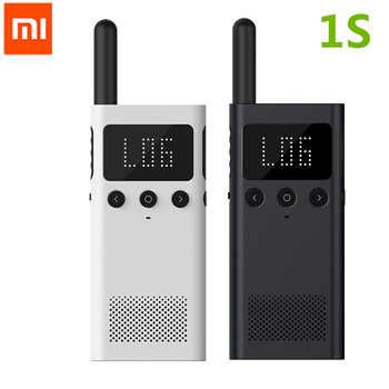 Original Xiaomi Mijia Smart Walkie Talkie 1S smart Talkie With FM Radio Speaker Standby Smart Phone APP Location Share - DISCOUNT ITEM  20% OFF All Category