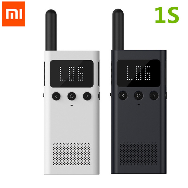 Original Xiaomi Mijia Smart Walkie Talkie 1S smart Talkie With FM Radio Speaker Standby Smart Phone APP Location Share