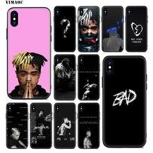 YIMAOC XXXTENTACION Sad 17 Soft Silicone Case for iPhone 11 Pro Xr Xs Max X or 10 8 7 6 6S Plus 5 5S SE