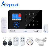 New Digital Wireless Wired APP Control Anti Theft Home Security Burglar GSM Alarm System Auto Dialer