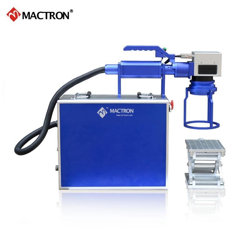 Macchina portatile per marcatura laser a fibra 20W per stampa su - Attrezzature per la lavorazione del legno - Fotografia 3