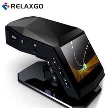 """Relaxgo Actualización 2 """"mini coche dvr grabador de vídeo con perfume 1080 p coche cámara dash cam vehículo panel cámara dvr coche negro caja"""