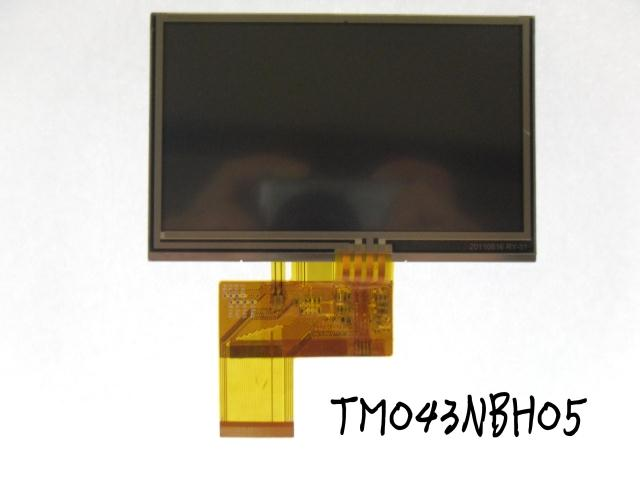 4.3 lcd screen tm043nbh02 with touch car gps learning machine