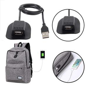 Image 5 - USB Male to USB Mount Female Cable Practical Convenient Outdoor Travel Camping External Backpack Cable 0.5m