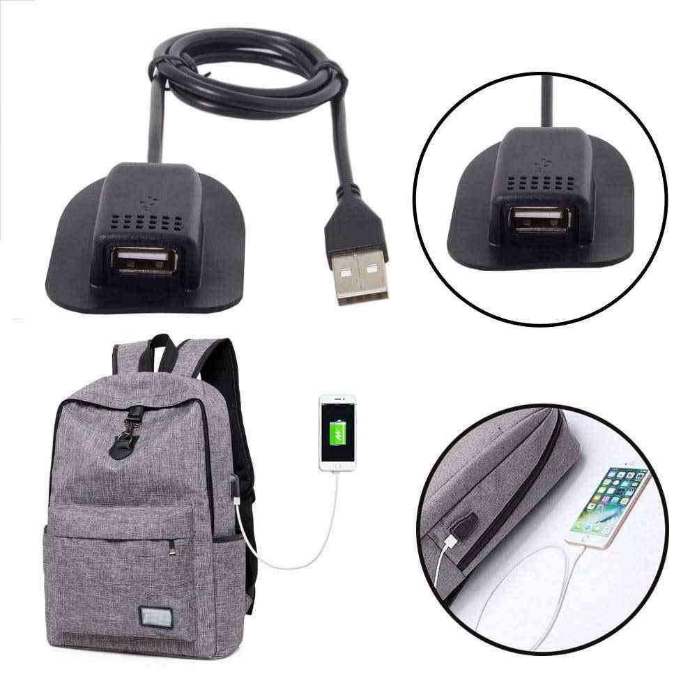 USB Мужской к USB крепление женский кабель практичный и удобный для путешествий на открытом воздухе кемпинг наружный рюкзак кабель 0,5 м