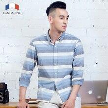 High Quality Mens Designer Striped Dress Shirt