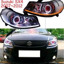 2007 ~ 2012y سيارة بومر رئيس ضوء لسوزوكي SX4 مصباح أمامي للسيارة اكسسوارات LED DRL HID زينون الضباب لسوزوكي SX4 كشافات