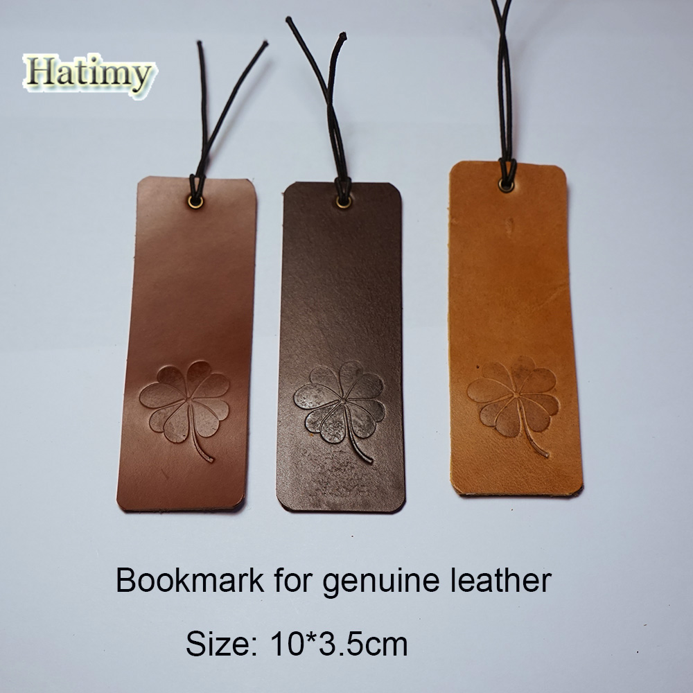 Genuine Leather bookmark marque page marcador de livro bookmarks for books clips stationery items bookmarks marcapaginas 3color effiel tower magnetic bookmark paris tower magnetic bookmarks for books magnetic clips page marker