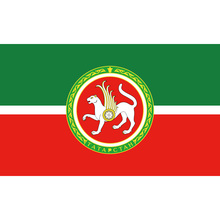 Free shipping 90*150cm 60*90cm Polyester Tatarstan Flag 3X5FT 90x150cm For Home Office Party Bar Banner