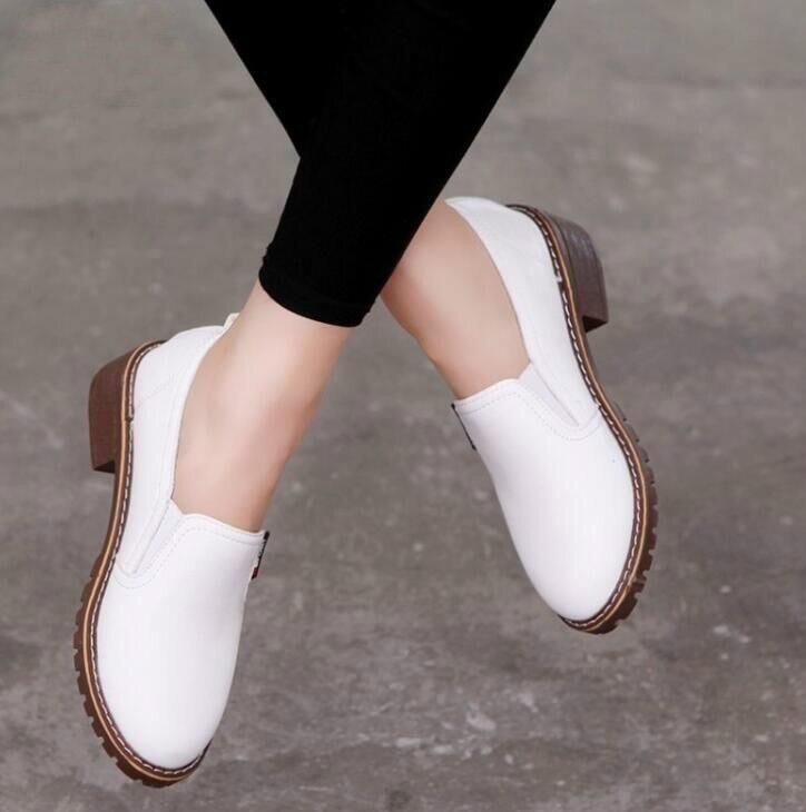 Livraison directe 2018 nouveau Style femmes chaussures plates bout rond Oxford chaussures femme PU femmes Bullock chaussures livraison gratuiteLivraison directe 2018 nouveau Style femmes chaussures plates bout rond Oxford chaussures femme PU femmes Bullock chaussures livraison gratuite