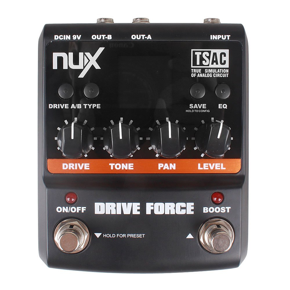 NUX Drive Force Modeling Stomp Simulator Guitar Effect Pedal 10 Modeling Stompbox Models modeling mixed species forest stands