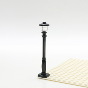 Image 4 - City Building Blocks Street Light Road Lamp Friends House Wall Accessories Pieces Mni Toys Military Bricks