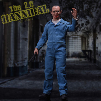 FS012 1:6 Scale The Silence of the Lambs Hannibal Lecter 2.0 Doll Toy with 2pcs Head Sculpt Full Set Action Figure Model Toys image