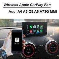 Aftermarket OEM беспроводная Apple Carplay Android автоматическое обновление для Audi A4 A5 Q5 A6 A7 с технология MirrorLink