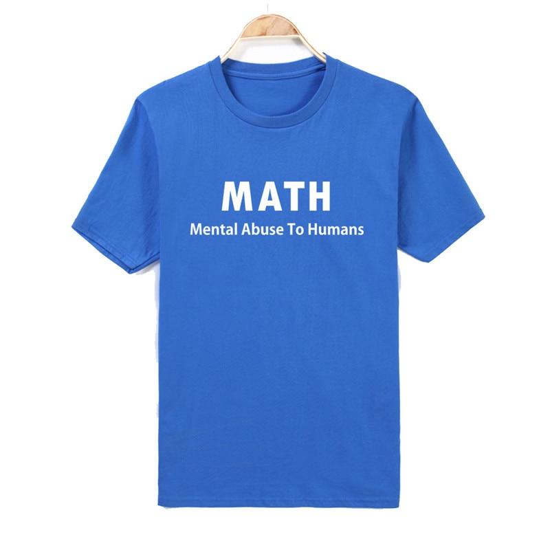 d111f1159823 Cotton t shirt Friend Gift I Love Math T shirt Mens T Shirt Funny TShirt  Geek Math Cool Shirt Math Teacher Funny english-in T-Shirts from Men's  Clothing on ...