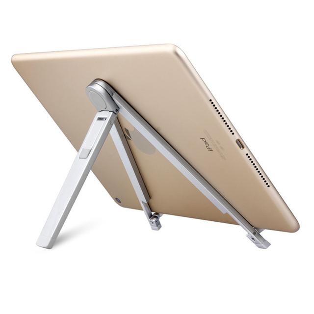 Dobrável ajustável tablet montar titular para ipad 2/3/4 ipad air 2 ar 1 ipad pro 9.7 mini 1234 tablet stand for iphone 7 7 plus