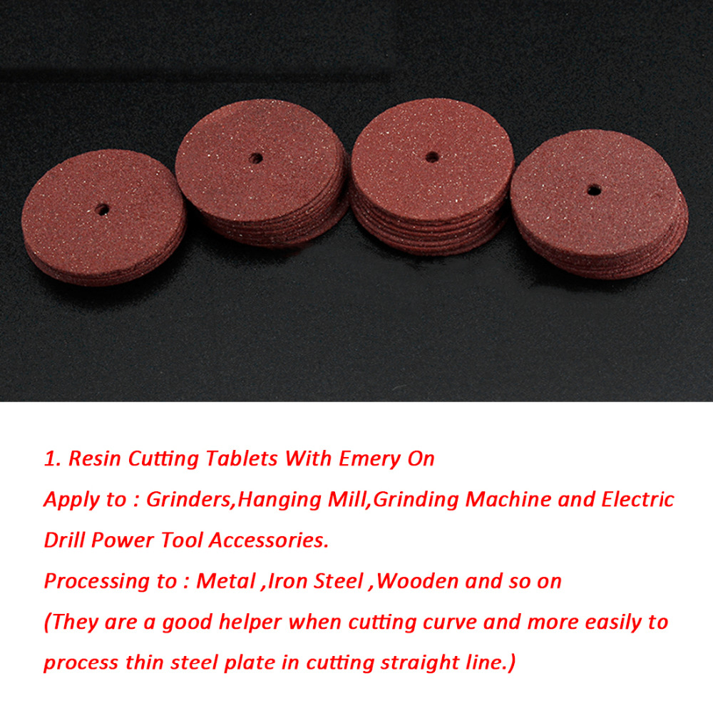 New 36 Pcs Resin Cutting Wheel Disc Cut Off Set Bit Kit For Dremel Rotary Tool Dremel Accessories