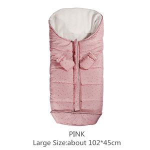 Image 5 - Autumn Winter Warm Baby Sleeping Bag Sleepsack For Stroller,Soft Sleeping bag for baby,Baby slaapzak,sac couchage naissance