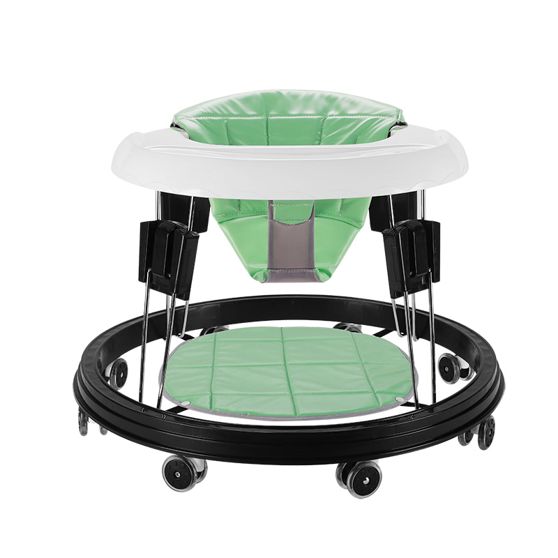 New Stand Multifunction Folding Baby Walker Learning Walk Sit Chair Walker Baby Walking Assistant Anti rollover For 6-18M Babys 2016 new baby walker car anti roll over multifunctional baby stroller music toys plate baby walk learning car folding walker c01