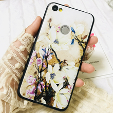 цена на For Xiaomi Redmi Note 5A 2GB 3GB TPU Silicone 3D Relief Flower Luxury Cases Rubber Soft Cover Case For xiomi redmi Note 5A prime