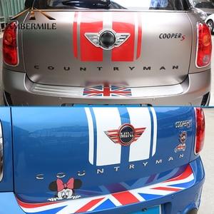 Image 4 - AMBERMILE 3D מתכת אותיות מדבקות אחורי Trunk לוגו סמלי רכב מילות מדבקה עבור BMW מיני קופר Countryman R60 F60 אבזרים