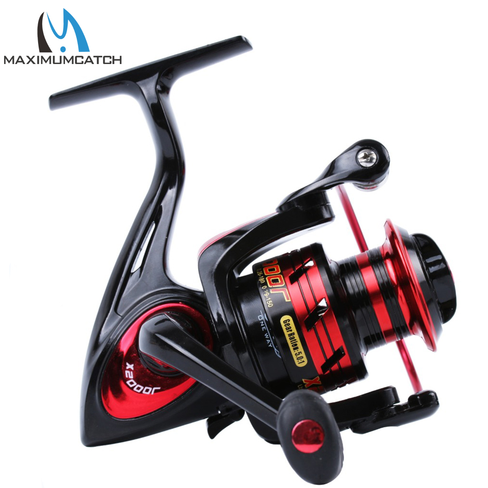 Maximumcatch Spinning Reel Super Licht Graphit Körper Max Drag 12 kg Karpfen Angeln Spinning Reel