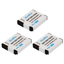 DuraPro 3Pcs DMW-BCM13 Battery for Panasonic Lumix DMC-TZ60 ZS30 ZS35 ZS40 ZS45 LZ40 TS5 TS6 TZ37 TZ40 TZ41 TZ55 DMC-FT5