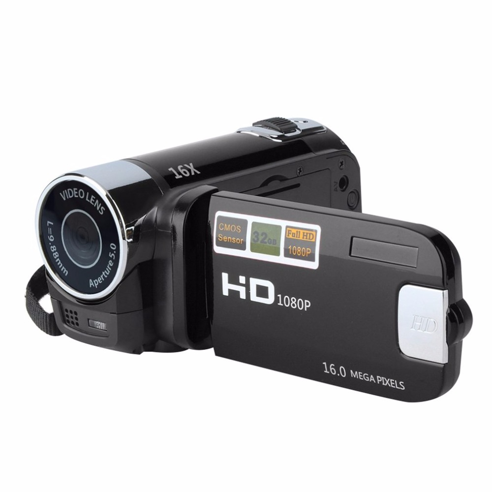 2.7inch Digital Video Camera Camcorder HD 720P 16X Zoom TFT LCD Screen DV Camera COMS Video Recording Support TF Hot Promotion
