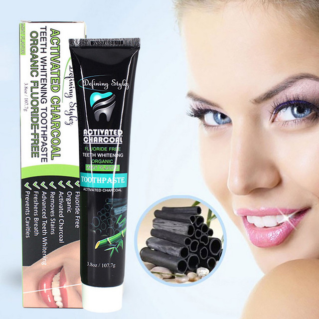 Bamboo Carbon Toothpaste Clean And Bright White Teeth tooth whitener professional teeth whitening teeth whitening peroxide