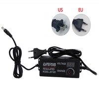Регулируемый адаптер питания переменного тока в постоянный ток 3 в 9 в 12 В 24 В Универсальный блок питания дисплей экран зарядное устройство м...