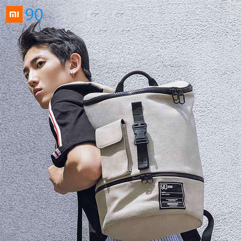Xiaomi Mijia Youpin 90S Chic Fashion Multi function Travel Business Leisure Backpack 310 195 440mm 0