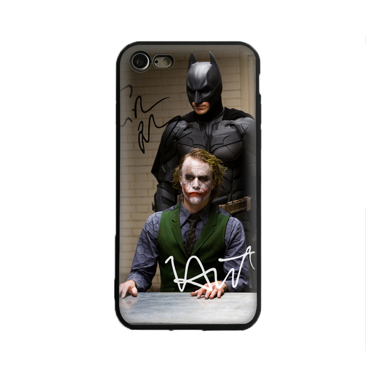 SKEROS CHRISTIAN BALE sign Batman Joker TPU Phone Case Soft Cover For X 5 5S Se 6 6S 7 8 6 Plus 6S Plus 7 Plus 8 Plus #oa176
