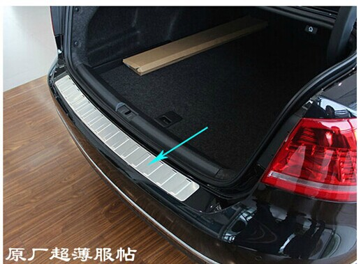 For sale High quality rear Sill Car bumper Protector stainless steel styling for 2011-2013 VW Passat B7