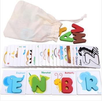 Digitalt brev puslespill clutch plate inlaying plate tre puslespill leketøy