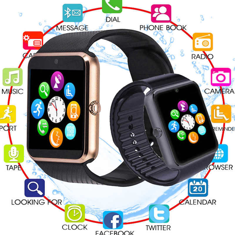 2019 Newest Men or Women Bluetooth Smart Watch Support TF SIM card