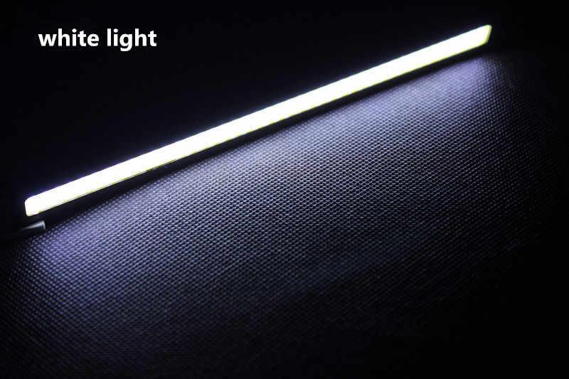 2 adet LED Gündüz Farları Dış Işıklar Otomatik Su Geçirmez KOLTUK leon ibiza altea alhambra Araba Styling