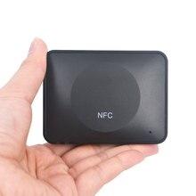 NFC Беспроводной bluetooth приемник аудио рецепторов Музыка адаптер с кабели для домашнего стерео звуковая система динамиков аудио Усилитель