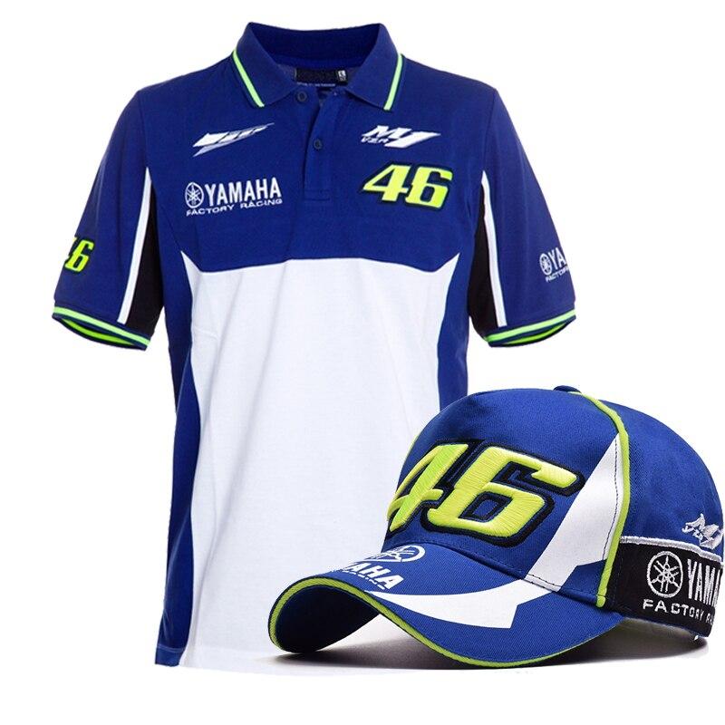 <font><b>100</b></font>% Cotton t shirt Valen <font><b>Rossi</b></font> VR46 M1 <font><b>motorcycle</b></font> Racing Team <font><b>Moto</b></font> <font><b>GP</b></font> Polo Shirt motocross for Yamaha VR 46 Polo <font><b>T-Shirt</b></font>