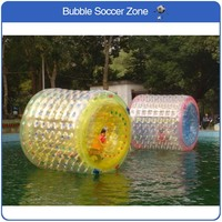 Free Shipping 2.4*2.2m Water Roller Inflatable Rollers Human Water Zorb ball Water Roller Ball Water Walking Ball