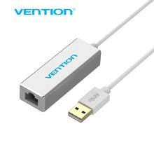 Vención USB 2.0 con CONECTOR RJ45 Lan Ethernet Network Card Adaptador Para Mac OS Android Tablet pc Portátil Smart TV Win 7 XP 8 en 10/100 Mbps