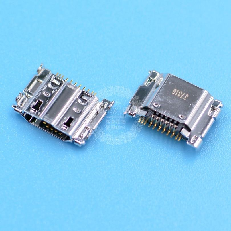 2 pçs original mini micro usb porto de carregamento tomada de energia para samsung galaxy s3 i9300 i9305 usb conector micro usb soquete 11pin
