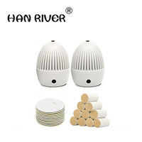 HANRIVER 2018 The new hot body massager warm moxibustion box moxibustion with household article ai navel GongYi main post