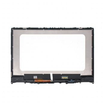 For Lenovo Yoga 530-14IKB 530-14ARR NT140WHM-N43 5D10M42866 LCD Panel Display Screen Touch Glass Digitizer Assembly with Frame