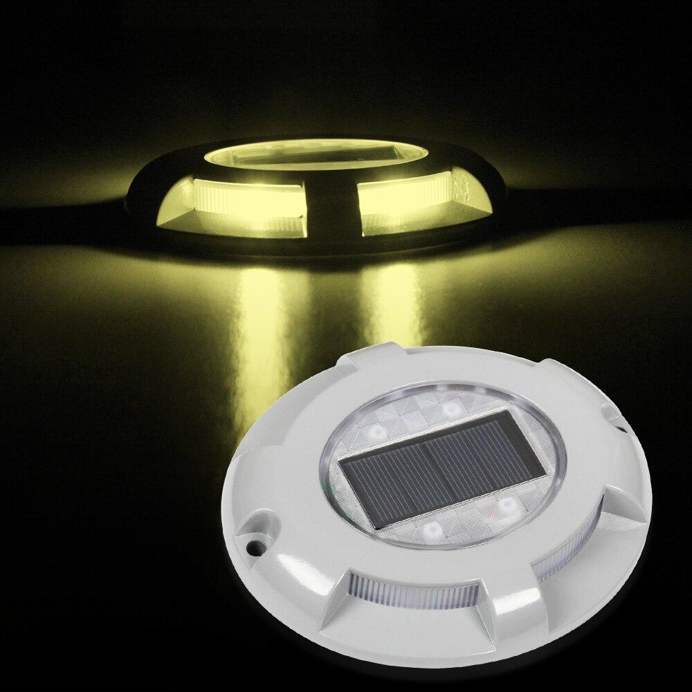 T SUNRISE Step Light  Led Grondspots Waterproof Outdoor 3000K Warm White LED Solar Light  IP65 Waterproof Garden Courtyard Lamp