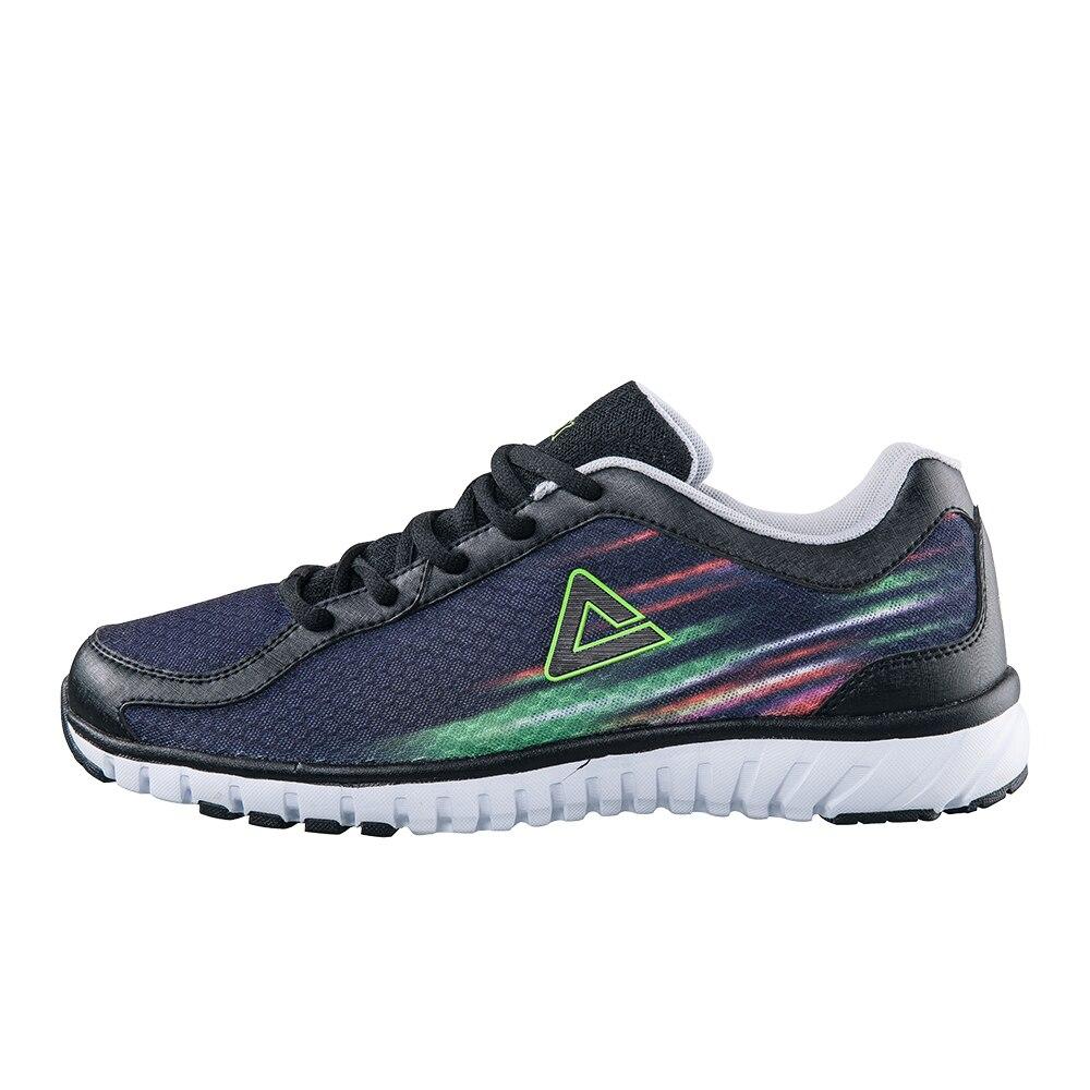 ФОТО PEAK SPORT Men's Running Shoes Lightweight Breathable Anti-slip Sports Shoes E52177H Free Shipping