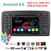2G 32G Octa Core Android 6 0 1 DIN Car DVD For Mercedes R CLASS W251