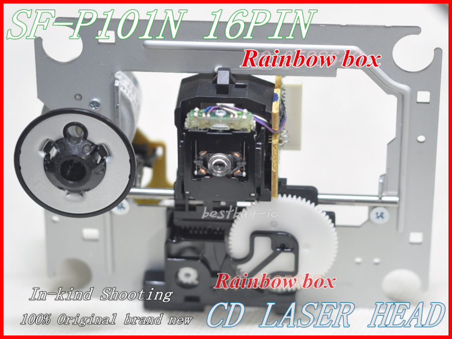 SF-P101N 16P HI-FI Laser Lens SF P101N SFP101N 16pin Optical head Replacement CD DVD Player