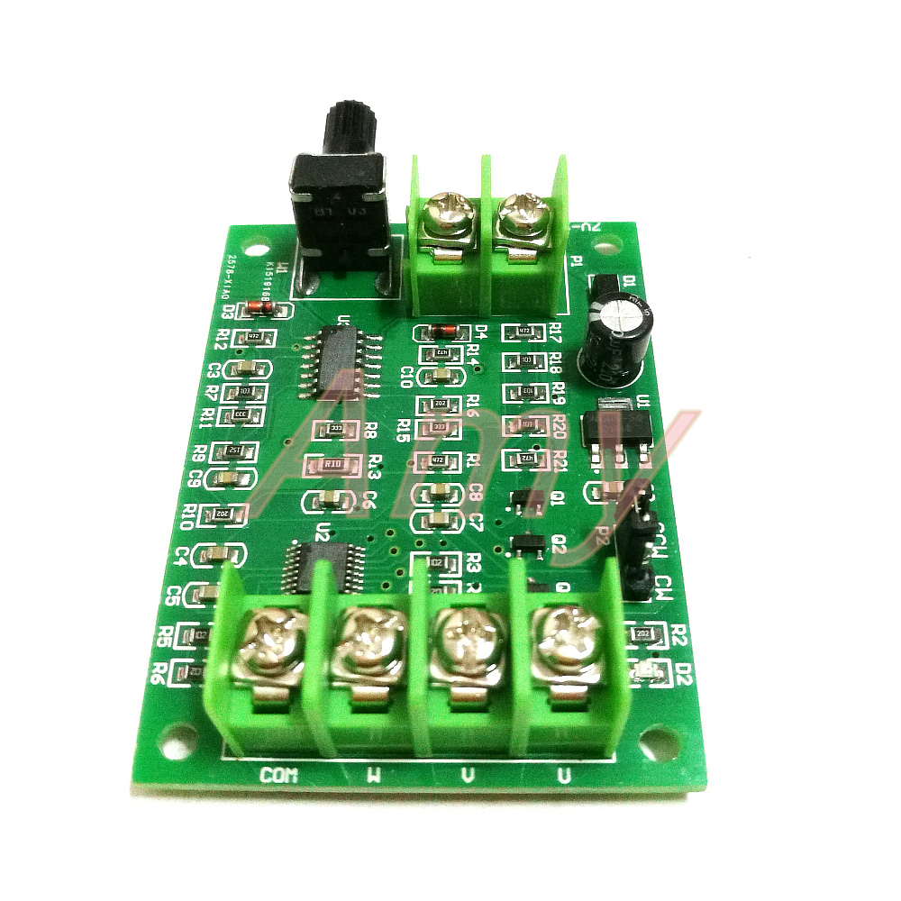 Buy Improved Version Brushless Dc Motor Drive Power Opamp Servo Amplifier Tachometer Speed Control Board Cd Rom Hard Disk Controller 7v 12v From Reliable