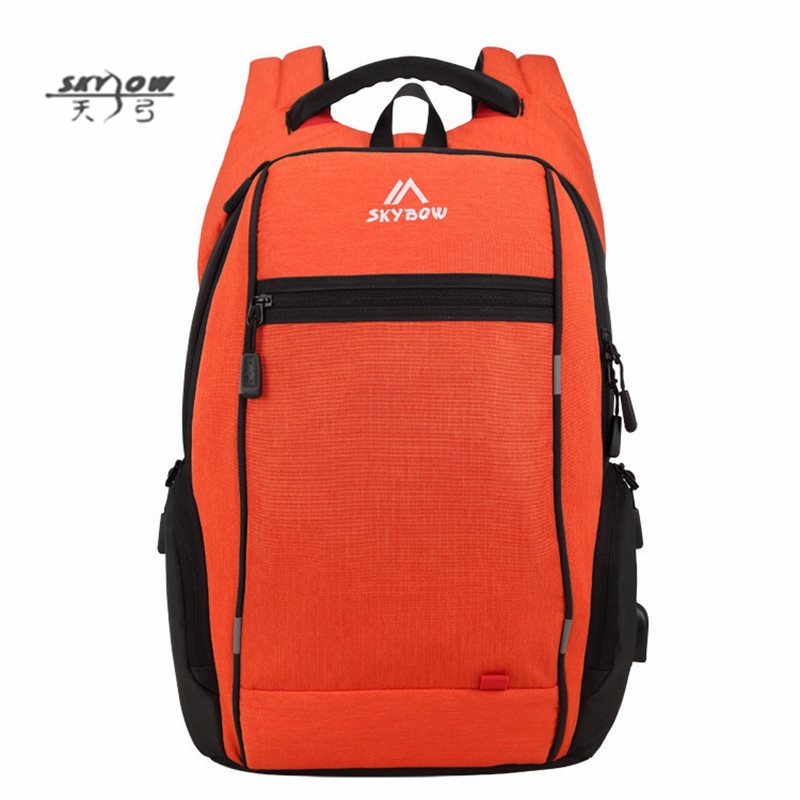 Classic Solid School Bags Men High Quality Waterproof Travel Backpack Students Preppy Style Bags 8815