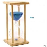 1ピース30分砂砂時計カウントダウンタイミング現代木製砂時計砂クロックタイマー家の装飾リロイデアリーナギフト